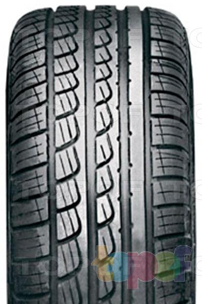 Шины Pirelli P7. Асимметричный рисунок протектора