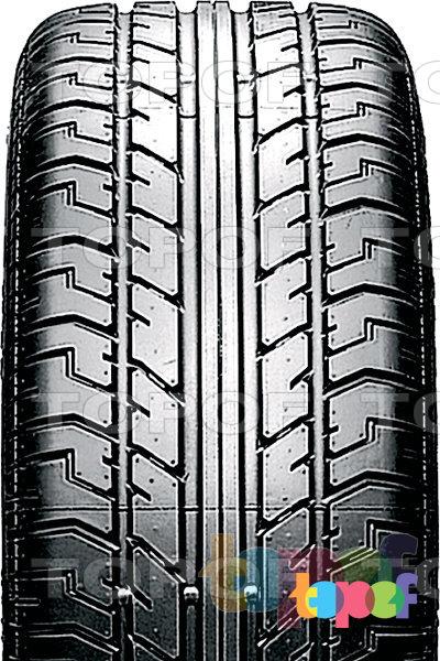 Шины Pirelli PZero Direzionale. Продольные канавки на протекторе