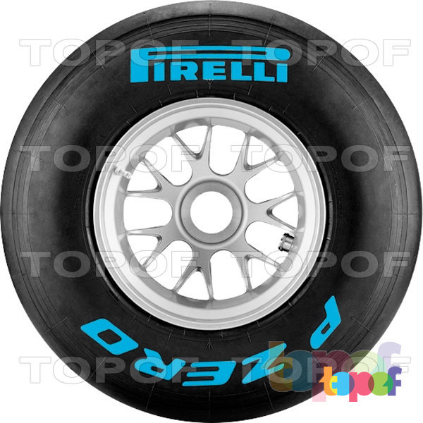 Шины Pirelli PZero Formula 1. PZero F1 Blue (Light Blue). Intermediate (промежуточный тип резиновой смеси)