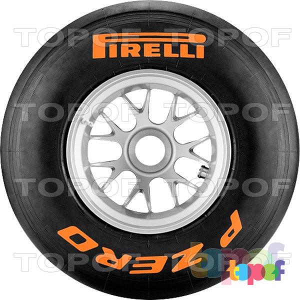 Шины Pirelli PZero Formula 1. PZero F1 Orange. Wet (дождевые шины)
