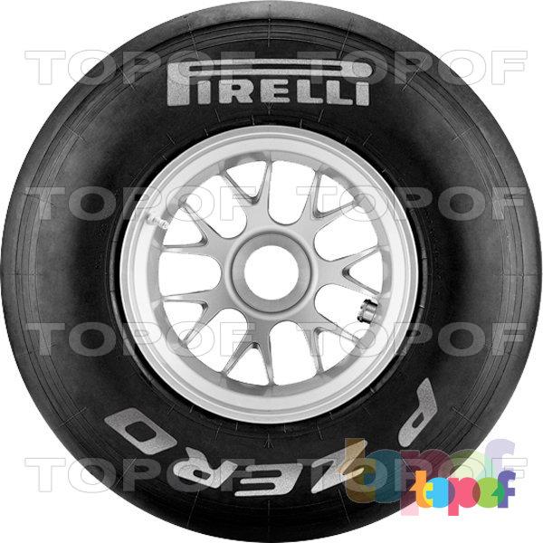 Шины Pirelli PZero Formula 1. PZero F1 Silver. Hard compound (жесткий состав резиновой смеси)