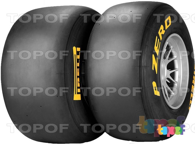 Шины Pirelli PZero Formula 1. Общий вид модели