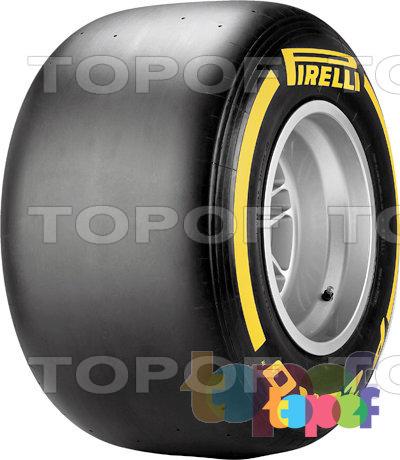 Шины Pirelli PZero Formula 1 (2012). PZero Soft Yellow - мягкие с желтой маркировкой