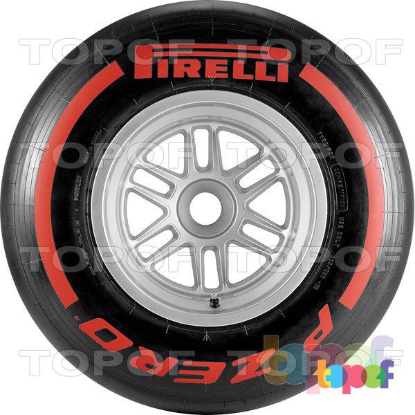 Шины Pirelli PZero Formula 1 (2012). Изображение модели #1