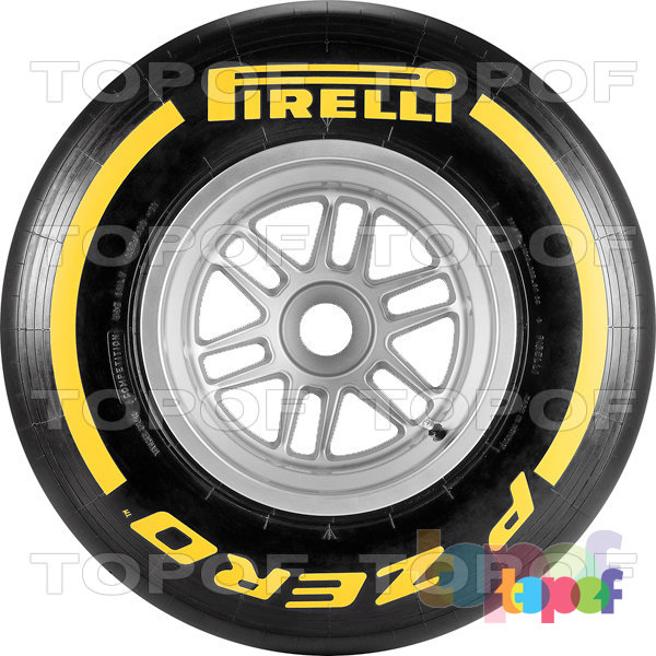 Шины Pirelli PZero Formula 1 (2012). Изображение модели #2