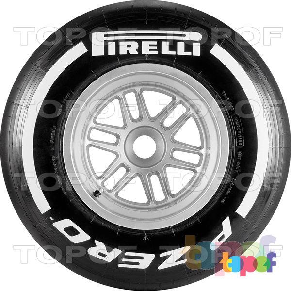 Шины Pirelli PZero Formula 1 (2012). Изображение модели #3