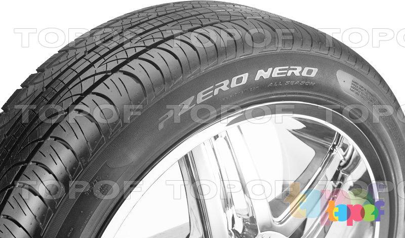 Шины Pirelli PZero Nero All Season. Боковая стенка