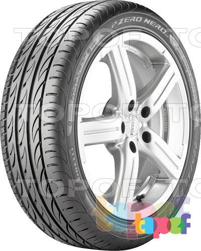 Шины Pirelli PZero Nero GT. Общий вид модели 2