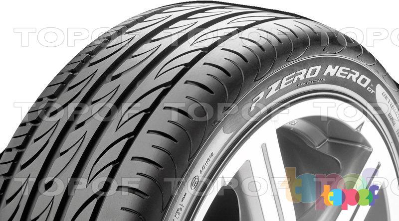 Шины Pirelli PZero Nero GT. Боковая стенка