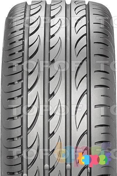 Шины Pirelli PZero Nero GT. Асимметричный рисунок протектора