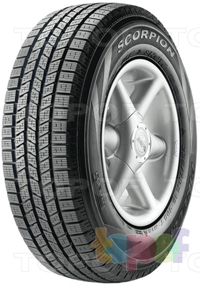 Шины Pirelli Scorpion Ice & Snow. Общий вид