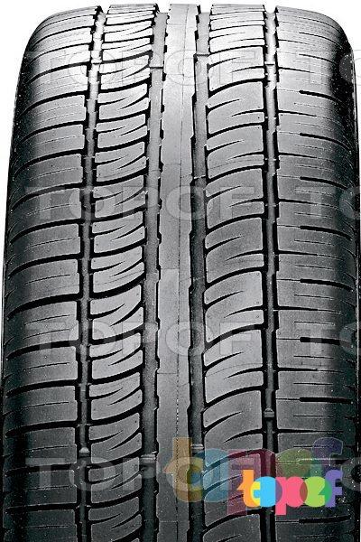 Шины Pirelli Scorpion Zero Asimmetrico. Асимметричный рисунок протектора с Z-образным профилем