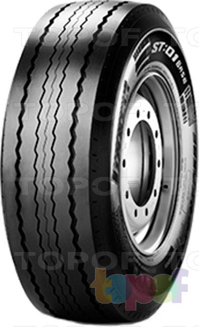 Шины Pirelli ST:01 Base. Общий вид модели