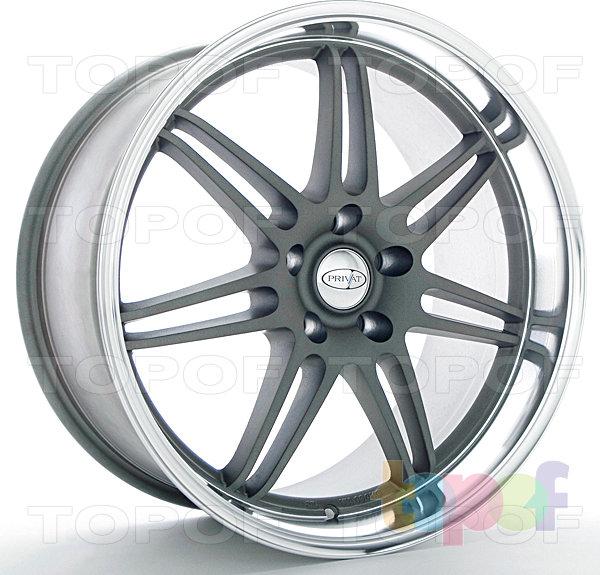 Колесные диски Privat Reserv. Цвет серый с полированной полкой