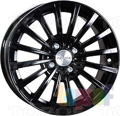 Колесные диски Прома RS2. Цвет черный