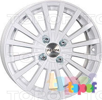 Колесные диски Прома RS2. Цвет белый