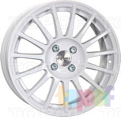 Колесные диски Прома RSs. Цвет белый