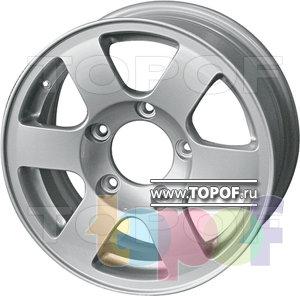Колесные диски R-tex 22. Изображение модели #1