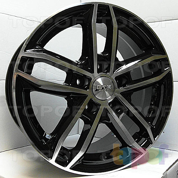Колесные диски R1 Sport 627. Изображение модели #1