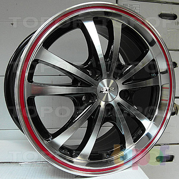 Колесные диски R1 Sport 974. Изображение модели #1