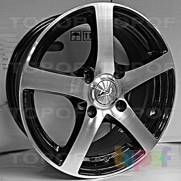 Колесные диски R1 Sport 239. Изображение модели #1