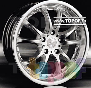 Колесные диски Racing Wheels (RW) Classic H107. Изображение модели #1