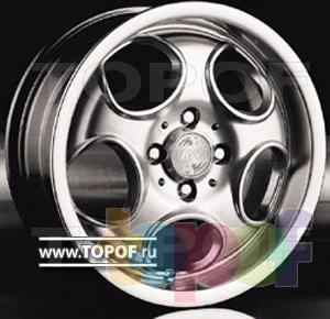 Колесные диски Racing Wheels (RW) Classic H108. Изображение модели #1