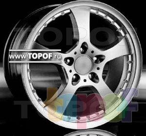 Колесные диски Racing Wheels (RW) Classic H120. Изображение модели #1