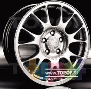 Колесные диски Racing Wheels (RW) Classic H124. Изображение модели #1