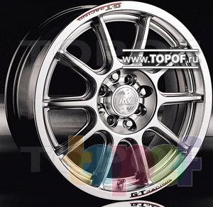 Колесные диски Racing Wheels (RW) Classic H133. Изображение модели #1