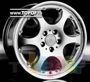 Колесные диски Racing Wheels (RW) Classic H136. Изображение модели #1