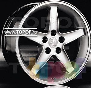 Колесные диски Racing Wheels (RW) Classic H137. Изображение модели #1