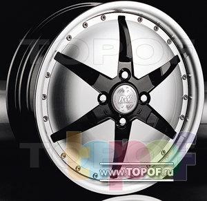 Колесные диски Racing Wheels (RW) Classic H141. Изображение модели #1