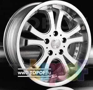 Колесные диски Racing Wheels (RW) Classic H145. Изображение модели #1