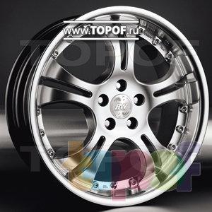 Колесные диски Racing Wheels (RW) Classic H147. Изображение модели #1