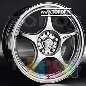 Колесные диски Racing Wheels (RW) Classic H151. Изображение модели #1
