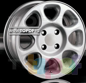 Колесные диски Racing Wheels (RW) Classic H153. Изображение модели #1