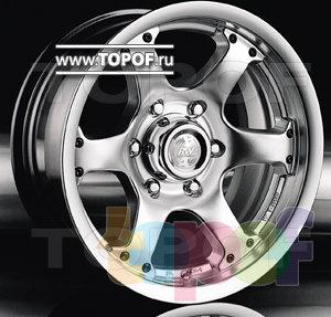 Колесные диски Racing Wheels (RW) Classic H154. Изображение модели #1