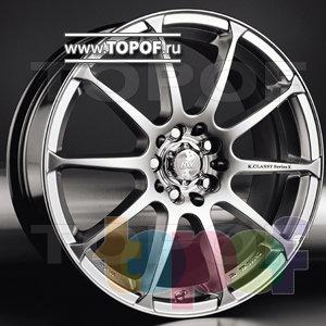 Колесные диски Racing Wheels (RW) Classic H158. Изображение модели #1