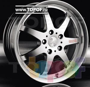 Колесные диски Racing Wheels (RW) Classic H160. Изображение модели #1
