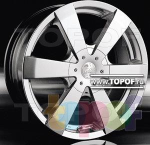 Колесные диски Racing Wheels (RW) Classic H165. Изображение модели #1