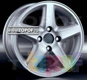 Колесные диски Racing Wheels (RW) Classic H172. Изображение модели #1