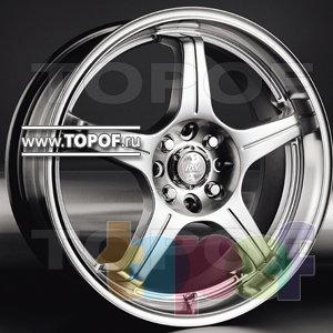 Колесные диски Racing Wheels (RW) Classic H196. Изображение модели #1