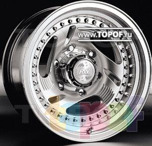 Колесные диски Racing Wheels (RW) Classic H203. Изображение модели #1
