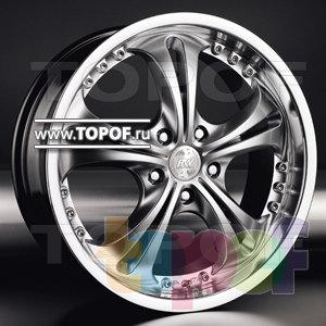 Колесные диски Racing Wheels (RW) Classic H204. Изображение модели #1