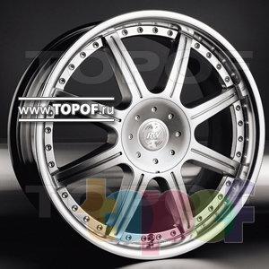 Колесные диски Racing Wheels (RW) Classic H205. Изображение модели #1