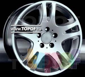 Колесные диски Racing Wheels (RW) Classic H208. Изображение модели #1