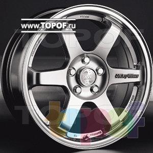 Колесные диски Racing Wheels (RW) Classic H224. Изображение модели #1