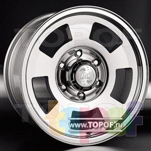 Колесные диски Racing Wheels (RW) Classic H229. Изображение модели #1