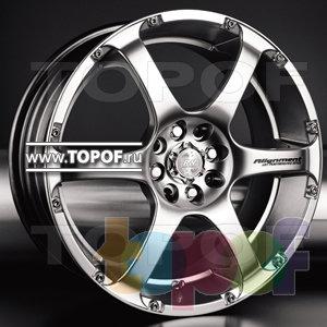 Колесные диски Racing Wheels (RW) Classic H230. Изображение модели #1
